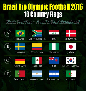Brazil Rio Olympic 2016 Flags Supply in Malaysia KL Johor Singapore
